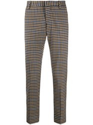 Entre Amis Houndstooth Tailored Trousers 60