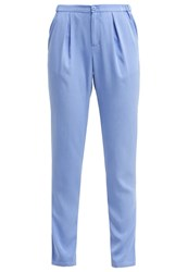 Mbym Ibi Trousers Faded Blue Light Blue