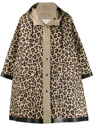 Mackintosh Leopard Print Raincoat 60