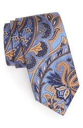 Men's J.Z. Richards Paisley Silk Tie Blue