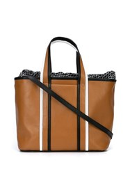 Pierre Hardy Archi Tote Brown