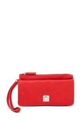 Mundi Dominique Wristlet Wallet Red