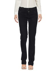 40Weft Casual Pants Black