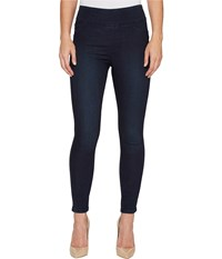 Ivanka Trump Tummy Control High Waisted Jegging In Dark Blue Dark Blue Women's Jeans