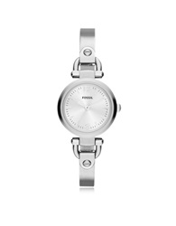 Fossil Georgia Mini Stainless Steel Women's Watch Silver