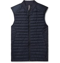 Arcteryx Veilance Arc'teryx Conduit Lt Slim Fit Quilted Nylon Ripstop Down Gilet Storm Blue