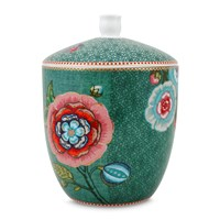 Pip Studio Spring To Life Storage Jar Green