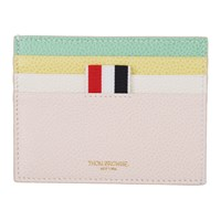 Thom Browne Multicolor Double Sided Card Holder