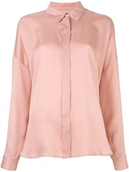 Odeeh Loose Fit Shirt Pink And Purple