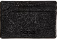 Lanvin Black Leather Card Holder