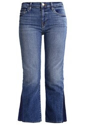 J Brand Selena Bootcut Jeans Ascention Blue Denim