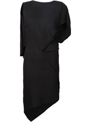 Jean Pierre Braganza Jean Pierre Braganza 'Black Shadow' Dress