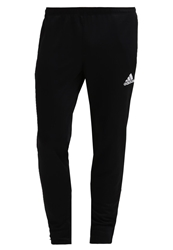 Adidas Performance Core Tracksuit Bottoms Black White