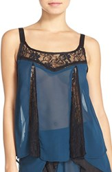 Women's Band Of Gypsies Lace Accent Lounge Camisole