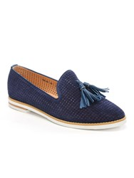Daniel Montego Perforated Loafers Blue
