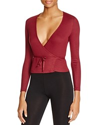 American Apparel Rib Wrap Top Sryah