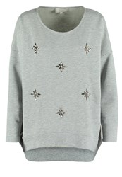 Cream Josie Sweatshirt Light Grey Melange Mottled Light Grey