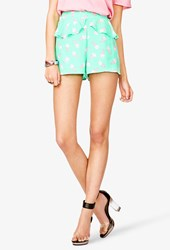 Forever 21 High Waisted Ice Cream Print Shorts