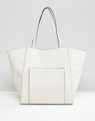 Carvela Large Shopper Bag Cream Comb