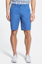 Timberland 'Canobie Lake' Straight Leg Selvedge Canvas Workwear Shorts Dutch Blue