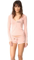 Wildfox Couture Nice Pj Set Dusty Rose