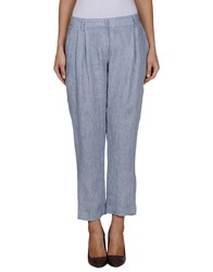 Niu' Trousers Casual Trousers Women Sky Blue
