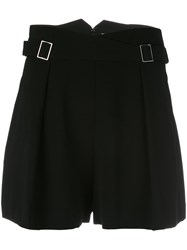 Zimmermann Buckle Detail Shorts Women Polyester Triacetate 1 Black