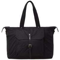 Ally Capellino Teddy Canvas Tote Black