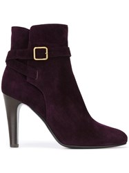 Michel Vivien 'Karluz' Ankle Boots Pink And Purple