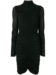 Diane Von Furstenberg Dvf Olivia Mini Knit Dress Black