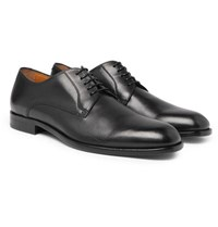 Hugo Boss Cardiff Leather Derby Shoes Black