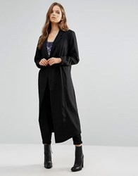 Minimum Moves Oversized Coat 999Black
