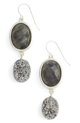 Simon Sebbag Women's Semiprecious Stone Drop Earrings