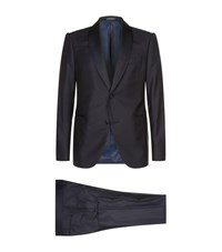 Armani Two Piece Evening Suit Navy