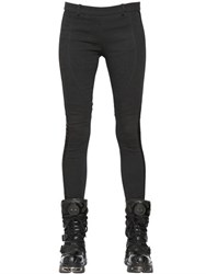 Faith Connexion Stretch Cotton And Viscose Tuxedo Leggings