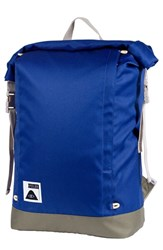 Poler Stuff Men's Roll Top Backpack Blue Royal Blue
