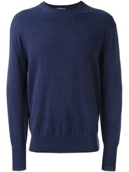 N.Peal 'The Oxford' Pullover Blue