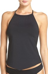 Laundry By Shelli Segal Women's Beaded Tankini Top