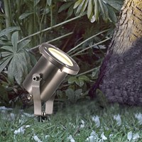 Amara Taurus Stainless Steel Outdoor Spotlight