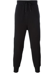 Ami Alexandre Mattiussi Drop Crotch Track Pants Black