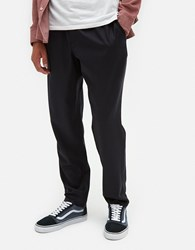A Kind Of Guise Elasticated Wide Trousers In Navy