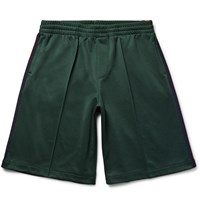 Gucci Striped Tech Jersey Shorts Dark Green