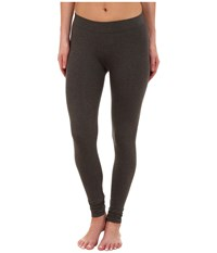 Pact Everyday Charcoal Heather Leggings Grey Women's Workout Gray