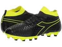 Diadora Primo Md Lpu Black Fluo Yellow Soccer Shoes