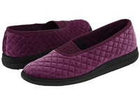Foamtreads Waltz Lilac Velour Women's Slippers Pink