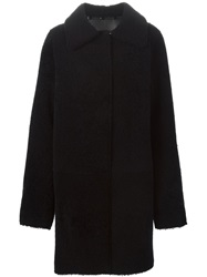 Sylvie Schimmel Reversible Hooded Coat Black