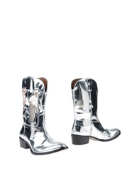 Acne Studios Boots Silver