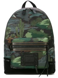 Coach Academy Backpack Green