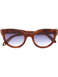Garrett Leight X Thierry Lasry 'Collab No. 3' Sunglasses Brown