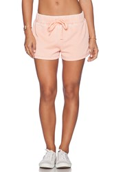 Bobi Enzyme Wash Lounge Short Pink